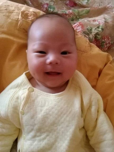 夏磊的小孩_公交宝宝秀